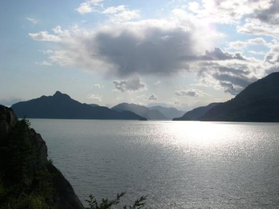 Whistler, Canada: This was Howe Sound.  It was so pretty.