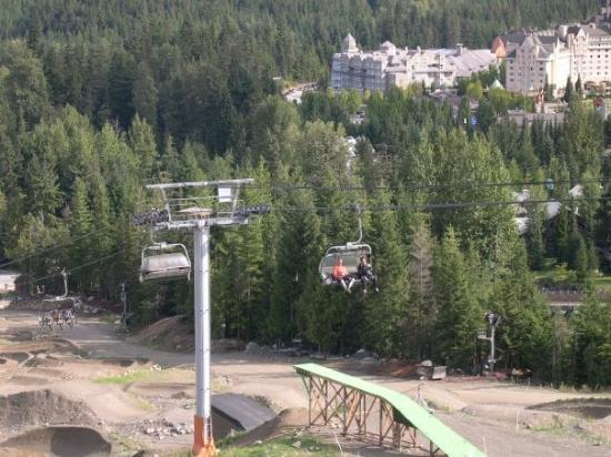Whistler, Kanada: This was how you got up the mountain.