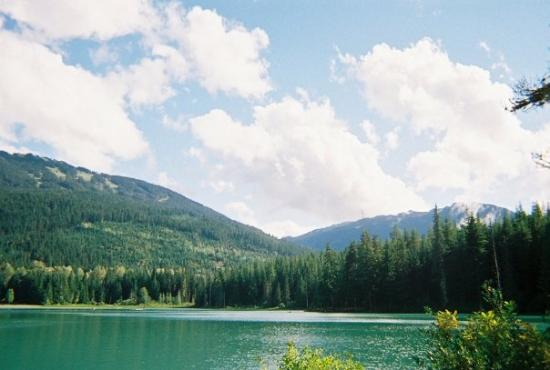 Whistler, Canada: I found it!  I found Lost Lake!