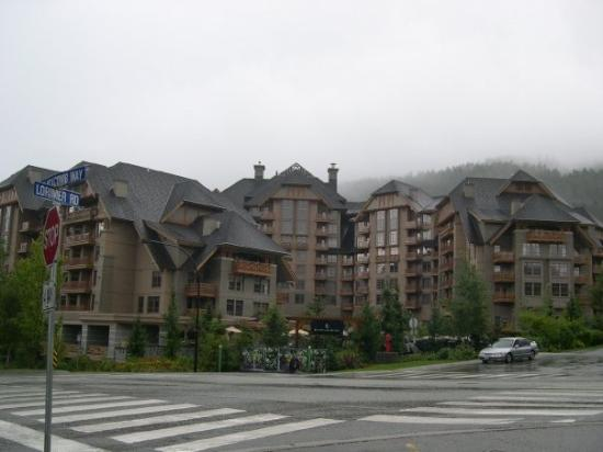 Four Seasons Resort and Residences Whistler: We finally arrive at our hotel in Whistler Village.  The Four Seasons Resort, of course.