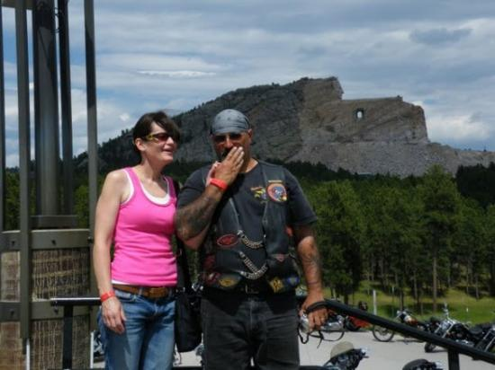 Sturgis, SD: crazy horse, crazy man just crazy