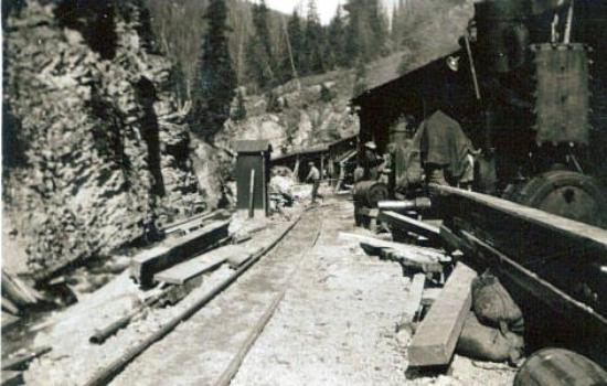 Idaho Springs, CO: They had to go into the M and M tunnel to gain access to the Dixie mine.  This is the entrance t