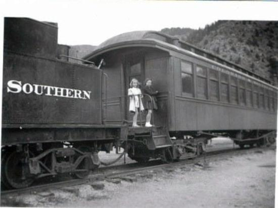 Idaho Springs, CO: This is the old train that was by the bridge most of my life but was moved across the street sev