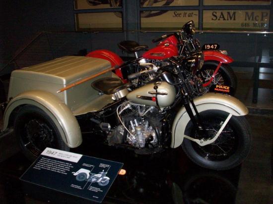 Bilde fra Harley-Davidson Museum