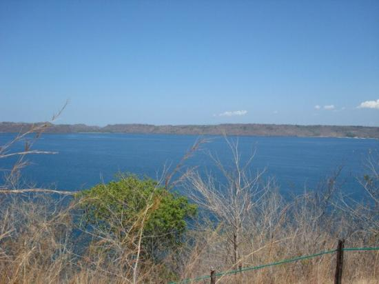 Secrets Papagayo Costa Rica: we decided to climb a steep hiking trail to the top of the hill, and the views were worth it.