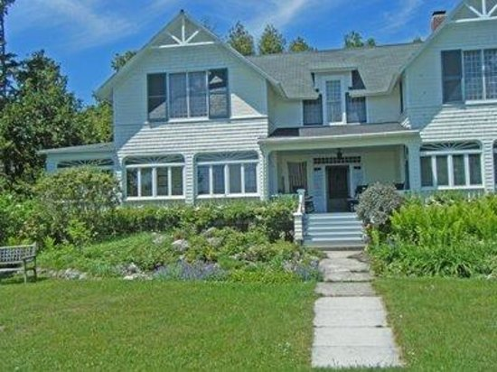 Mackinac Island, MI: Up on the East Bluff - Cottages on State Land