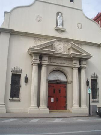 Cathedral Basilica in St. Augustine, Florida. America's first Parish founded in 1565