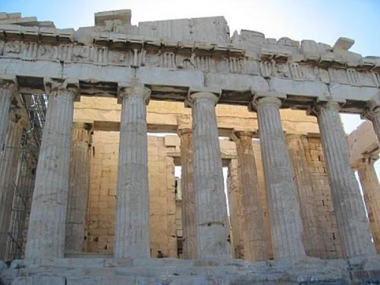 Akropolis: up close and personal