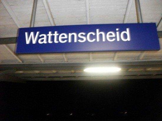 Bayern, Tyskland: Back to Wattenscheid station