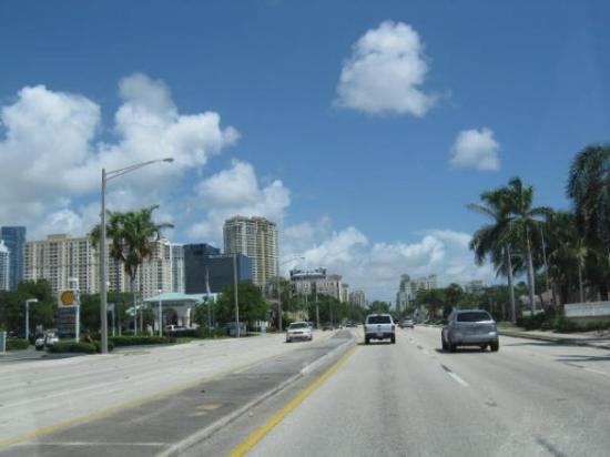 The ride continues on US 1, from North Miami to Fort Lauderdale