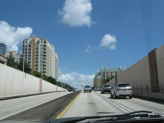 Fort Lauderdale, FL: Other side of the tunnel