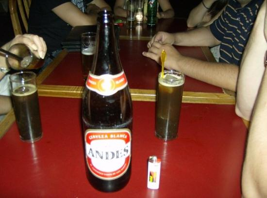 Mendoza, Argentina: what a real beer looks like
