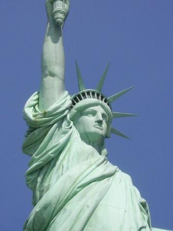 Statue of Liberty: She is not very pretty...she did come from France, so I guess we will cut her a break.