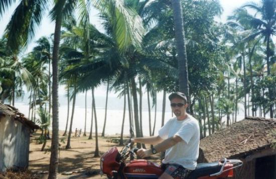 Anjuna, India. Playas de Goa