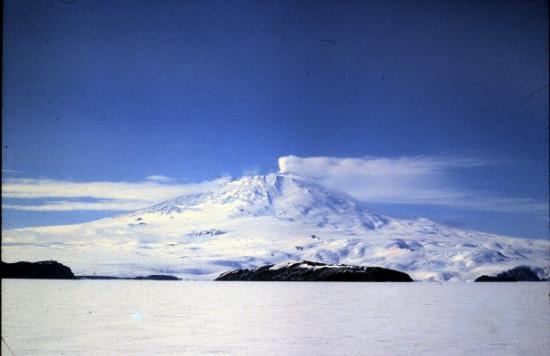 McMurdo Station: Mt. Erebus