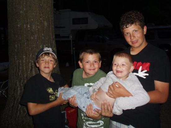 Ludington, MI: THE BOYS Joey Danny Lance                         Chase