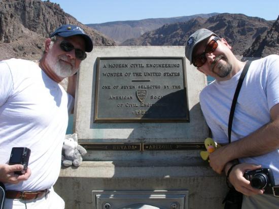 Boulder City, NV: DAY 06 - Hoover Dam - Entering Arizona