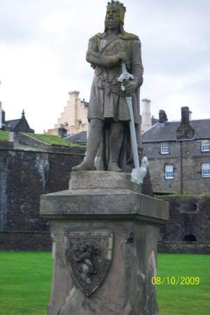 Stirling Castle: Robert the Bruce