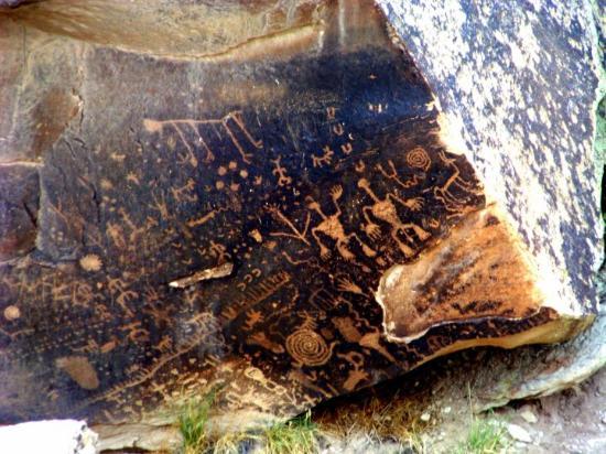 Petrified Forest National Park, AZ: Newspaper Rock