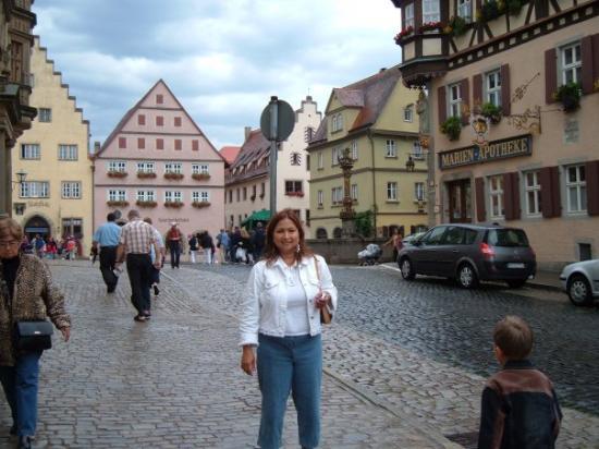street of Rothenburg