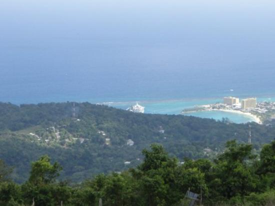 Ocho Rios, Jamaica... 18th Century Manor house on a hill overlooking the port. The view was awes