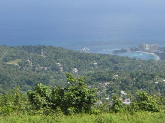 Ocho Rios, Jamaica... 18th Century Manor house on a hill overlooking the port.