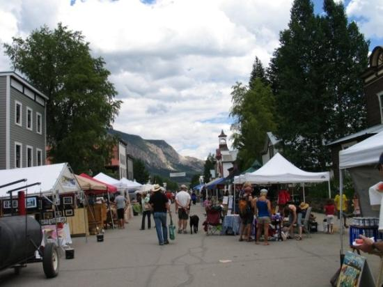 Crested Butte, CO: Sunday Farmer's Market was great.