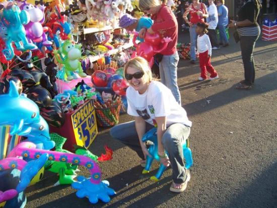 Shreveport, LA: jennifer Denson on the Donkey