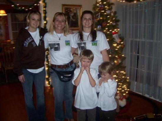 Shreveport, LA: Jen, Me, Christy, Ayden and Ryder