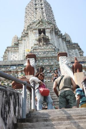 Wat Arun-tempelet: Temple of Dawn..Bangkok