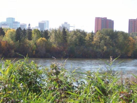 Edmonton, Canada: my river from dawson park