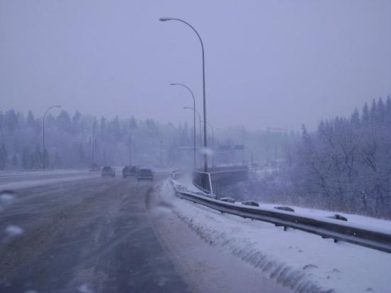 Edmonton, Canada: Wayne Gretsky Drive - Capalano Bridge
