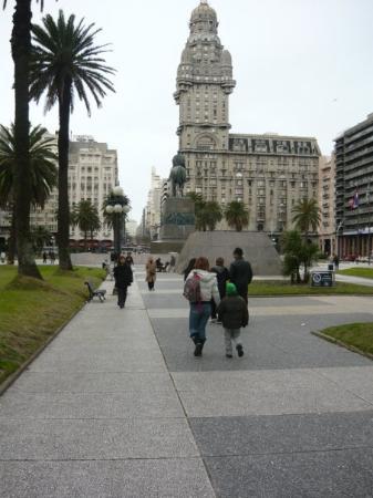 Plaza Principal en Montevideo