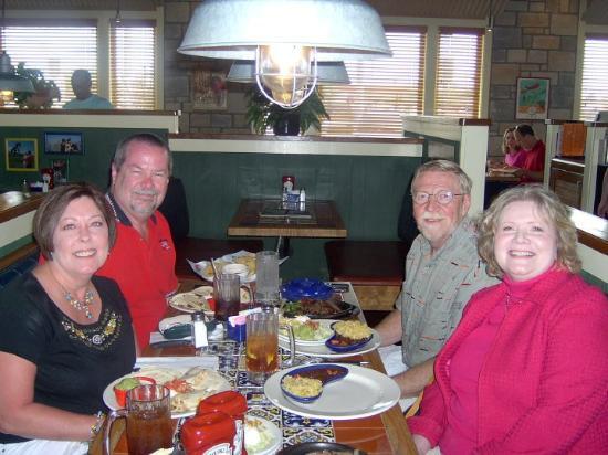 Lakeland, FL: March 16, 2010 Opal, Steve, Dan & Kathy