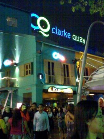 Clarke quay... haloween night... so... crowded...