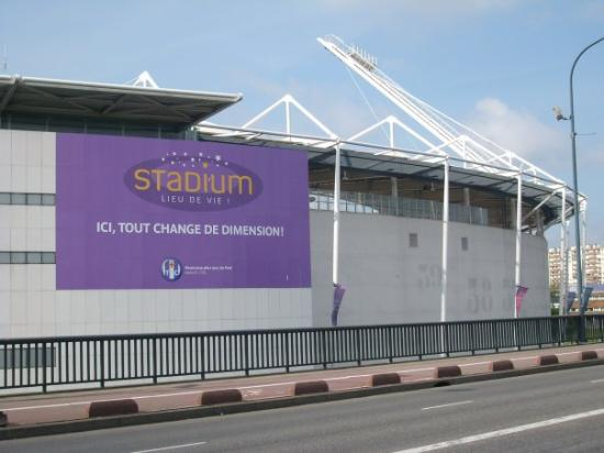 The stadium of Toulouse
