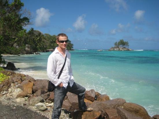 Bilde fra Praslin-øya