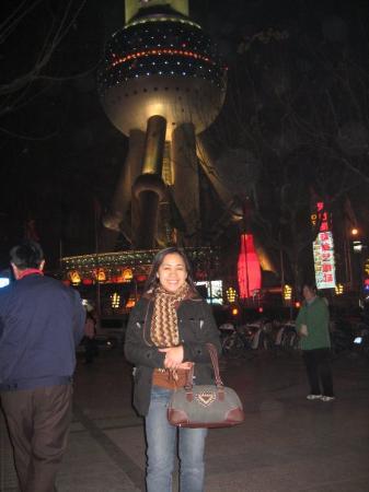 Fjernsynstårnet Østens Perle: Shanghai Pearl Tower, China