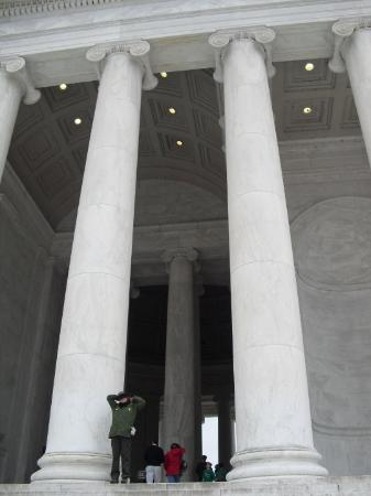 Jefferson Memorial: Jefferson enterance
