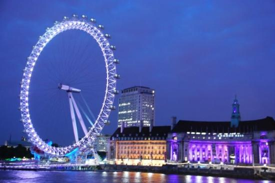 Bilde fra The London Eye