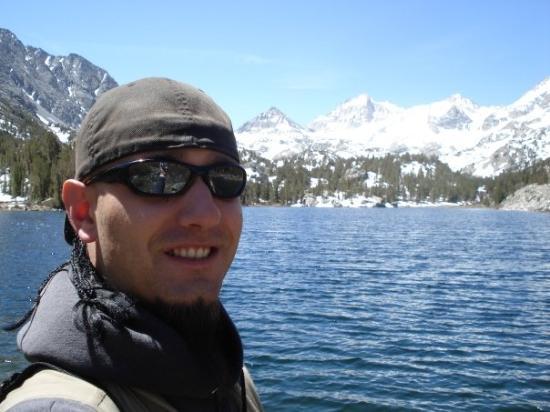 Mammoth Lakes, CA: Me at Box Lake