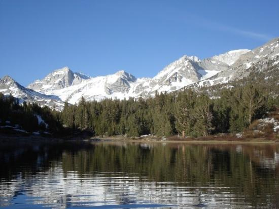 Mammoth Lakes, CA: Mack Lake in June