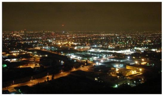 The NEW Ride: Type C / Culver City View from second lookout spot. Best view in L.A., period!