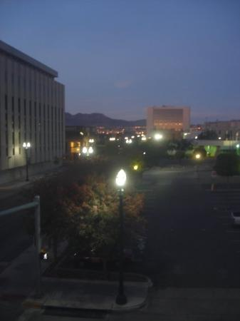 El Paso, TX: View of the approaching dawn from my window