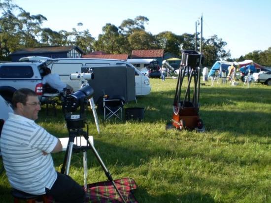 Ballarat, Australia: Snake Valley Astro Camp 11th Nov 2007