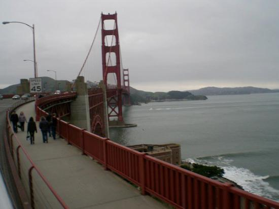 Golden Gate: San Francisco, Kalifornien, USA