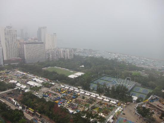 Metropark Hotel Causeway Bay Hong Kong: view from room nr 2410