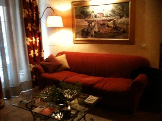 Hotel Residenza San Calisto: reception area 3