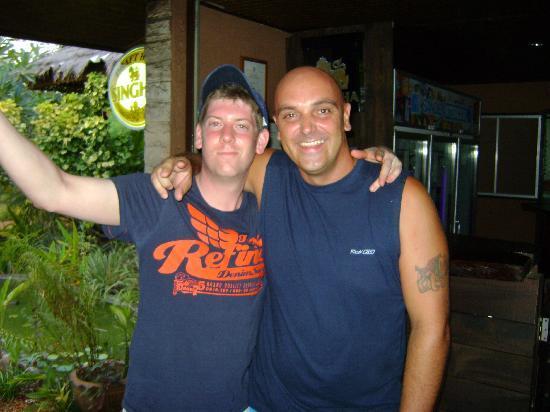 Phangan Beach Resort: Me and Andy