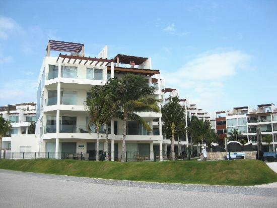 The Elements Oceanfront & Beachside Condo Hotel: south-wing  PH#2 right top corner
